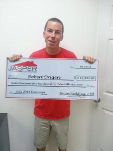 Robert Driggers- July earnings- $12,443.30